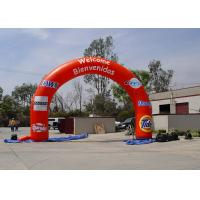 Wholesale Red Excellent waterproof  PVC Inflatable Advertising Products Arch for Event from china suppliers