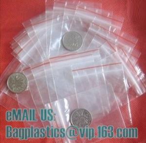 China Zipper seal bag, mini grip bag, mini zip lock bag, zip seal bag, zipper bag, slider zipper on sale