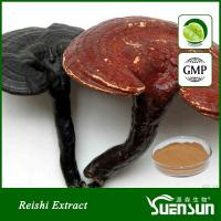 Wholesale Organic ganoderma lucidum reshi mushroom powder best price 10%-50% Polysaccharides from china suppliers