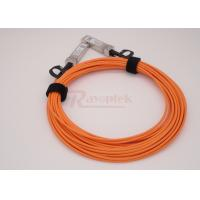 Wholesale SFP-AOC-11M 10 Gigabit Active Optical Cable OM2 Interface Compliant to SFF-8431 from china suppliers