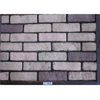 Wholesale Gray artificial faux exterior brick for wall decoration from china suppliers