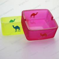 Hot sale colorful camel glass ashtray for wholesale