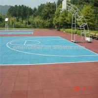 Wholesale hard-wearing standard basketball court made from 100% rubber granules from china suppliers