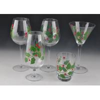 Wholesale Colorful Decorated Hand Painted Glass Stemware For Martini Wine from china suppliers