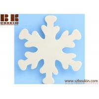 Wholesale Unfinished Wood Snowflake Cutout Christmas tree ornaments Holidays Gift Ornament from china suppliers