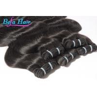 Buy cheap Grade 5A Body Wave Mongolian Hair Extensions No Shedding Human Hair Wefts from wholesalers