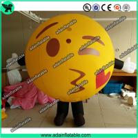 Wholesale Lovely Inflatable Kiss Ball Valentine's Day Inflatable Costume Parade Inflatable Cartoon from china suppliers