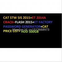 Wholesale FOR CAT SIS 10-2015 FULL Parts and repair + ET 2015A and SIS Activator + Flash File 2015+ET Factory Keygen 5in1withHDD50 from china suppliers
