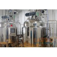 Ring Sparger Bioreactor System 500L Mechanical Stirred Stainless Steel Pt-100 Probe for sale