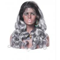 Smooth Body Wave 100 Indian Full Head Lace Human Hair Wigs For Black Women for sale