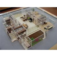 China Miniature Interior Design Models , Acrylic House Interior 3D Model 60 * 60CM on sale