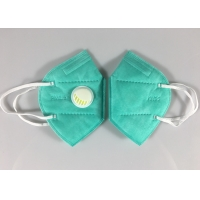 Wholesale Factory Stock Kn95 Face Mascarilla 5 Ply Green Dust Mask With Valve from china suppliers