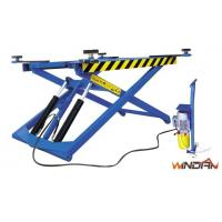 Quality Thin Structure Hydraulic Movable Scissor Lift For Tyre Repair And Body Paint for sale