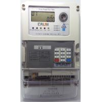 Buy cheap STS Compliant Prepayment Electric Meters 10A Basic Current 3 Phase Kwh Meter from wholesalers