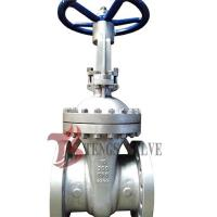 Cast Stainless Steel Gate Valve A351 CF8 SS304 300LB With Bolted Bonnet Design