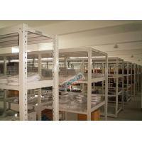 Wholesale Universal Q195 Slotted Angle Steel Racks Long Span Shelf 200 Kg Per Level from china suppliers