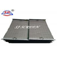Wholesale Oilfield Screens / Shale Shaker Screen Bottom Layer With Low Mesh Counts from china suppliers