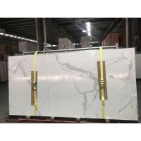 Wholesale Calacatta ceramic Ultrathin porcelain big slab 3200 mmx 1500mm from china suppliers