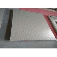 Buy cheap 1.2 X 2m 5 Tons Heavy Duty Floor Scales , Single Deck Industrial Floor Scales Without Frame from wholesalers