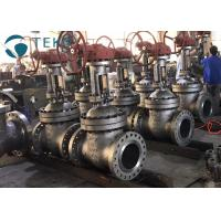 Wholesale High Pressure Flexible Wedge Flanged Gate Valve Cast Steel For WOG from china suppliers