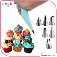 Wholesale FDA LFGB certificated 2017 New 304 Stainless Steel Icing Piping Cake Decorating Pastry Nozzle Tips from china suppliers