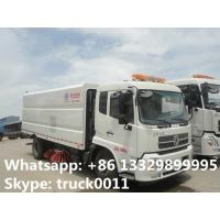 China dongfeng 4*2 LHD Cummins 180hp/185hp diesel road sweeper cleaning vehicle for sale, best price CLW road cleaning vehicle for sale