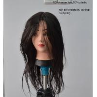 Wholesale Salon Human Hair Female Mannequin Head for Makeup Practice from china suppliers