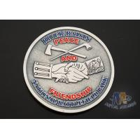 Wholesale USA Taekwondo Custom Challenge Coins Soft Enamel Both Side Design 38.1MM from china suppliers