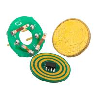 Buy cheap 3 Circuits Small Dimension Separate Pancake / Flat Slip Ring Transferring Power and Other Signals from wholesalers
