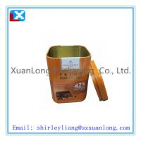 Wholesale Square Tea Tin Box from china suppliers
