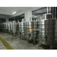 China high quality red wine equipment used 3000l 5000l wine fermenting equipment for sale