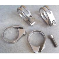 Wholesale titanium alloy bicycle seat post clamps,titanium bicycle parts,titanium bike parts from china suppliers