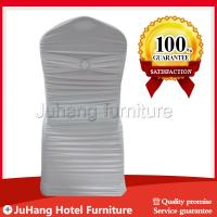 Wholesale turquoise metallic ruffled spandex lycra chair cover for weddings from china suppliers