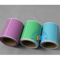 Buy cheap Rectangle round shape colorful adhesive barcode paper sticker roll for shipping articles label from wholesalers