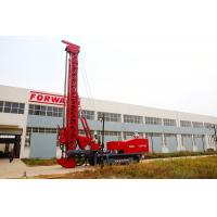 Wholesale Red 243Kw Modified Multifunction Top Drive Drill Rig , Rotate Angle 0º- 90 º from china suppliers