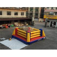 Wholesale Indoor Playground Kids Inflatable Sports Games / Inflatable Boxing Ring from china suppliers