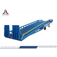 China Height Adjustable 12 Tons Mobile Hydraulic Dock Loading Leveler from China Manufacturer for sale
