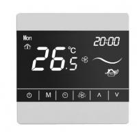 Buy cheap Hotel Keycard 0-10v Modulating Room Thermostat Modbus thermostat for 2 pipe or 4 from wholesalers