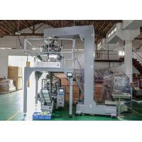 Quality Gusseted / Pillow Bag Packaging Machine For Food , Vffs Packing Machine for sale