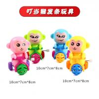 China Small Plastic Wind Up Toys / Smirk Little Monkey Wind Up Toy CE Certified on sale