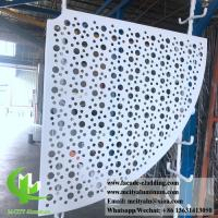 Wholesale Sector Shape Metal Sheet Aluminum Panel 3mm PVDF Paint Finish ISO9000 Listed from china suppliers