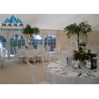 Wholesale 300 People Large Wedding Event Tents Fire Proof With Tables And Chairs from china suppliers