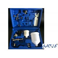 Quality Professional HVLP spray gun kits 600ml nylon cup with air regulator for sale