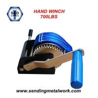 Wholesale 700lbs Hand Winch Brake Winch Trailer Winch Manual Hand Winch 700lbs Powder Coat from china suppliers