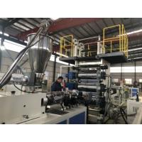 China 0.5mm Rigid Clear PVC Sheet Extrusion Line Customized Product Width With Protective Film on sale