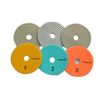 Wholesale Flexible 3 Step Diamond Polishing Pads With Excellent Polishing Speed from china suppliers