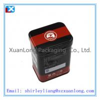 Wholesale rectangle metal tea box /XL-1098 from china suppliers