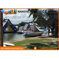 China Giant Inflatable Water Parks / Hand printing Inflatable Aqua Park on sale
