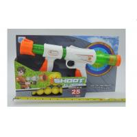 "Wholesale 14 "" Air Popper Blaster Launcher Pull And Pump Shooting Toy With 10 Foam Balls from china suppliers"