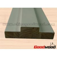 Wholesale Primed FJ Pine Wooden Mouldings Door Frames Door Stop and Stile from china suppliers